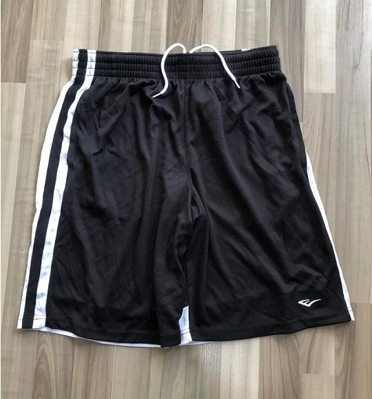 NAM-Short thể thao Everlast đen sọc trắng