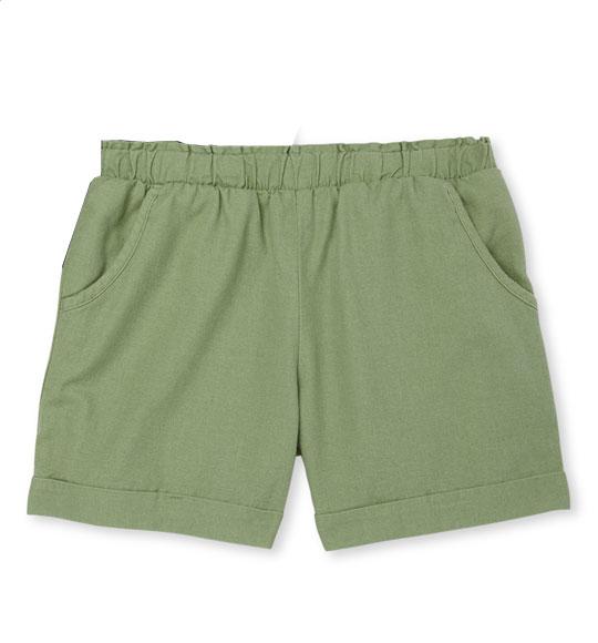 BG-Short vải Wonder Nation xanh rêu