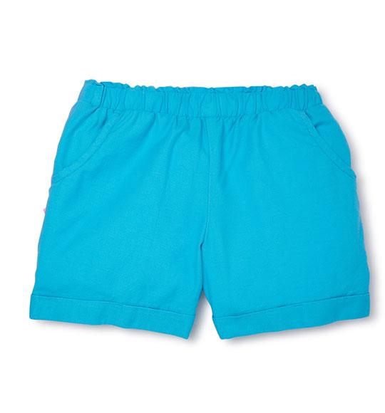 BG-Short vải Wonder Nation xanh dương nhạt