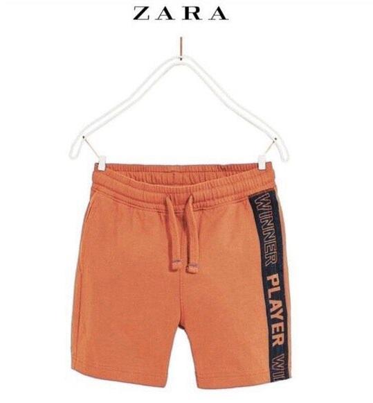 BT-Short thun da cá Zara cam