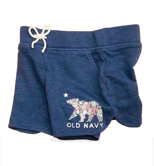 BG-Short da cá Old Navy xanh xám