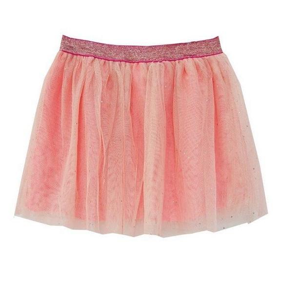 BG-Chân váy Cat & Jack voan hồng k sịp