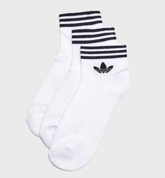 NAM/NU-Vớ Adidas cổ viền S3 trắng