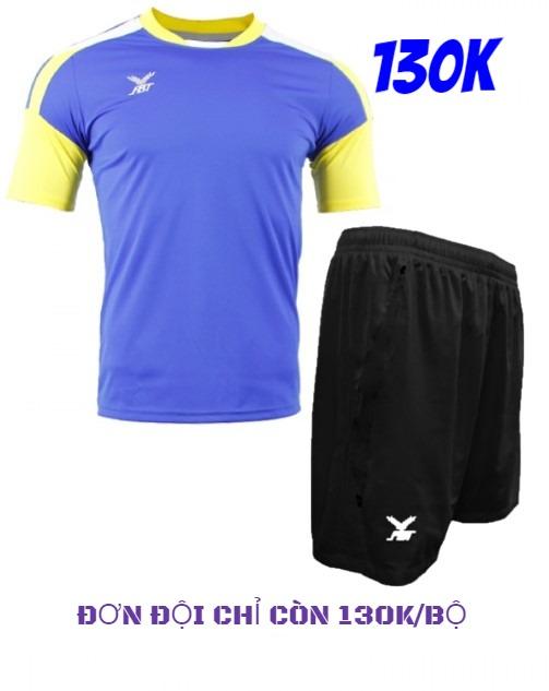 Bộ quần áo đá bóng FBT màu xanh royal - giảm giá 40% cho đơn đội
