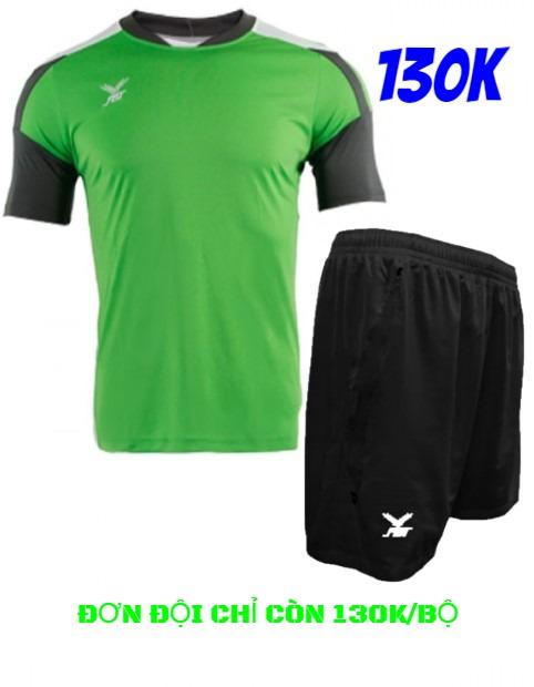 Bộ quần áo đá bóng FBT màu Xanh lá - giảm tới 40% cho đơn đội