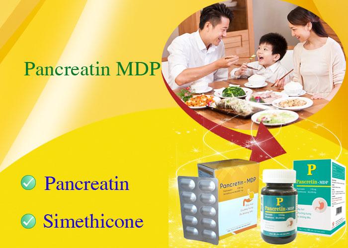 PANCRETIN - MDP chống đầy hơi, ăn không tiêu