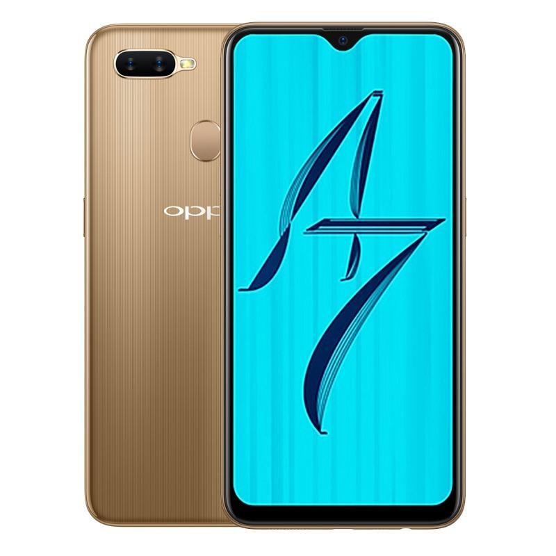 OPPO A7 - 4GB/64GB - 99% - màu vàng