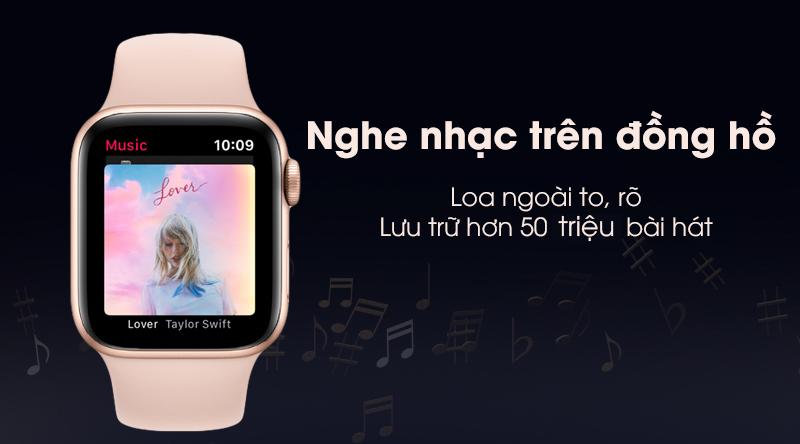 Apple Watch S5 44mm viền nhôm dây cao su