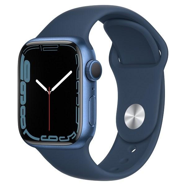 Apple Watch Series 7 GPS, 45mm – Viền nhôm dây cao su