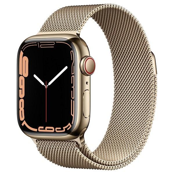 Apple Watch Series 7 4G, 41mm – Viền thép dây thép