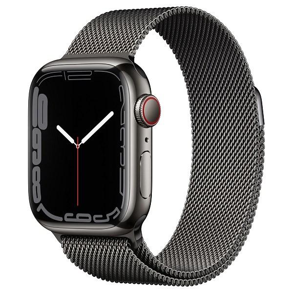 Apple Watch Series 7 4G, 45mm – Viền thép dây thép