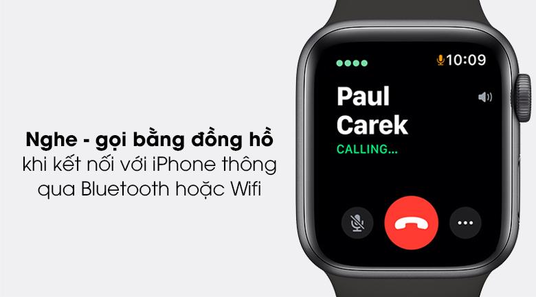 Apple Watch SE 44mm viền nhôm dây cao su
