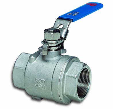 Two Piece Threaded Body Ball Valves