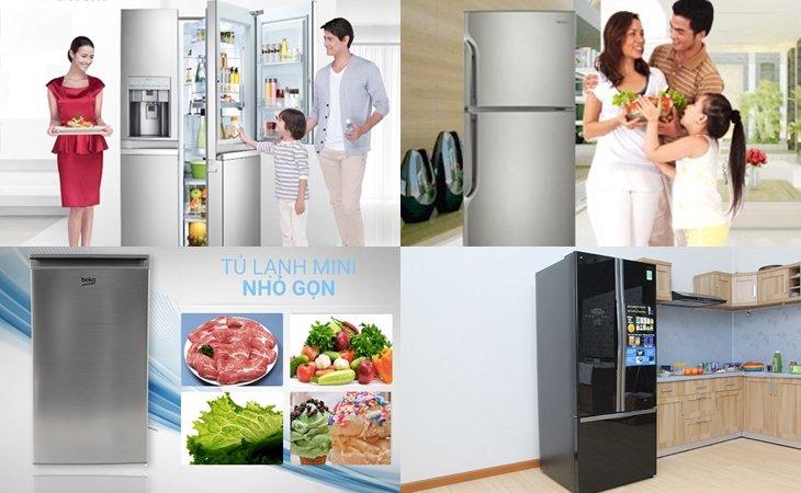 Kích thước các dòng tủ lạnh cơ bản bạn nên biết