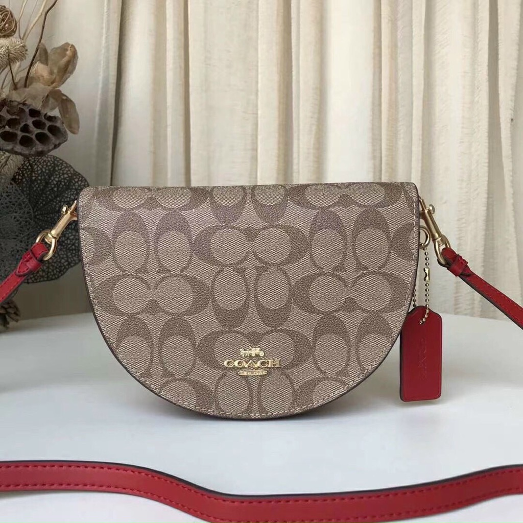 Túi C🅾️ACH ELLEN CROSSBODY In Signature Canvas