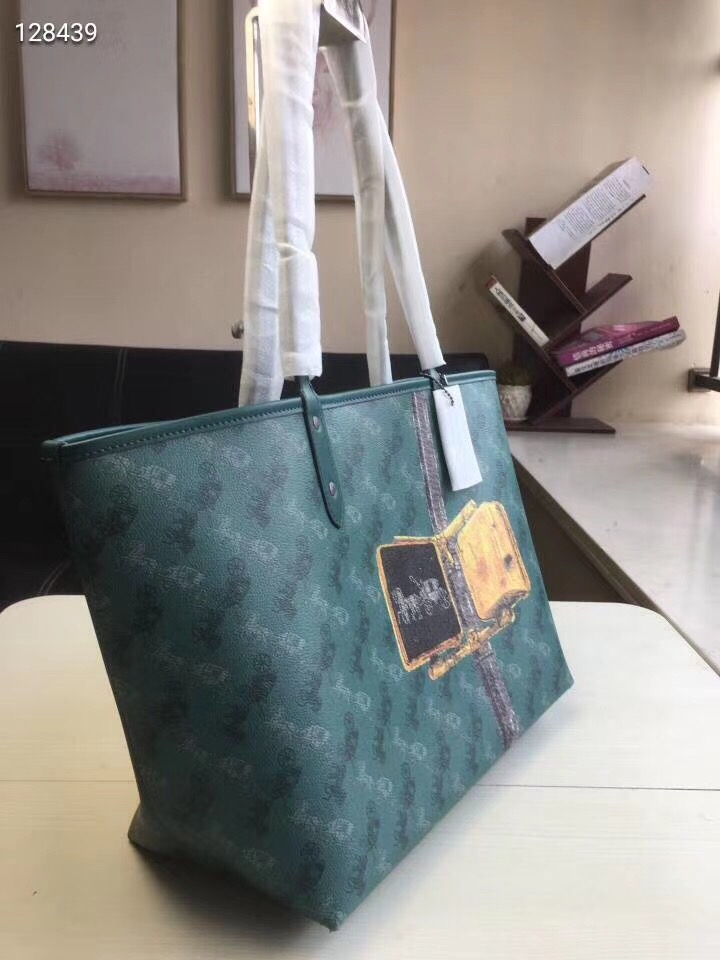 TÚI SHOPPER C🅾️ACH RIVERSIBLE CITY TOTE