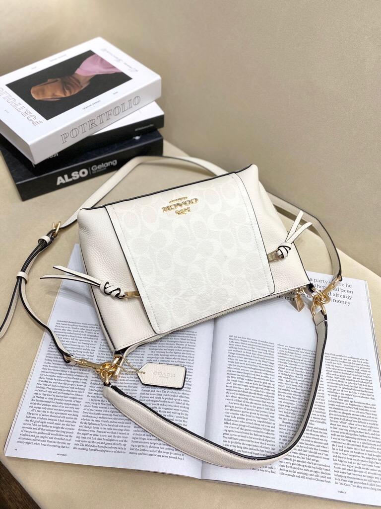 TÚI CO🅰️CH MARLON SMALL shoulder bag