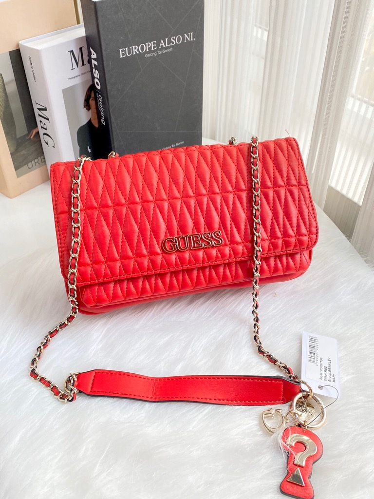 TÚI GUE55 guess brinkley quilted crossbody