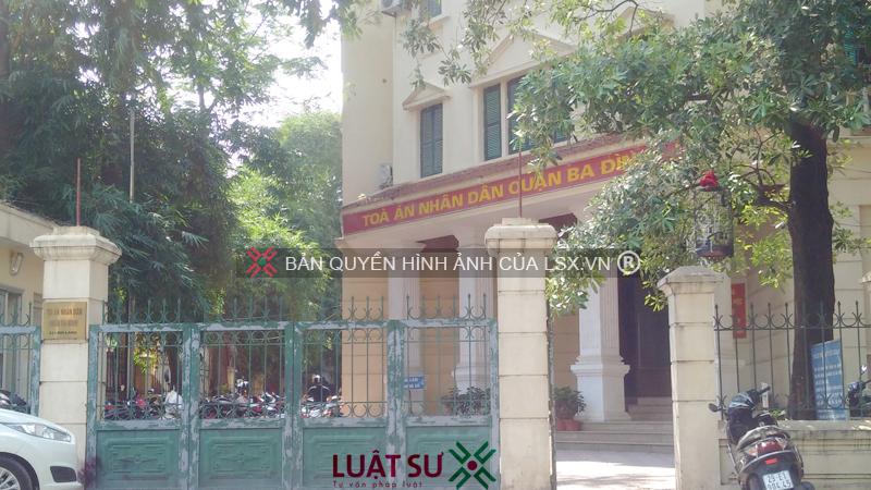 Dịch vụ Ly hôn nhanh tại Quận Ba Đình