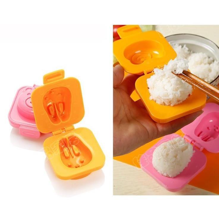 Set 2 Khuôn tạo ép cơm , bánh hình thú cho bé Kukobo - Made in Japan - KBN 221288 / 221271