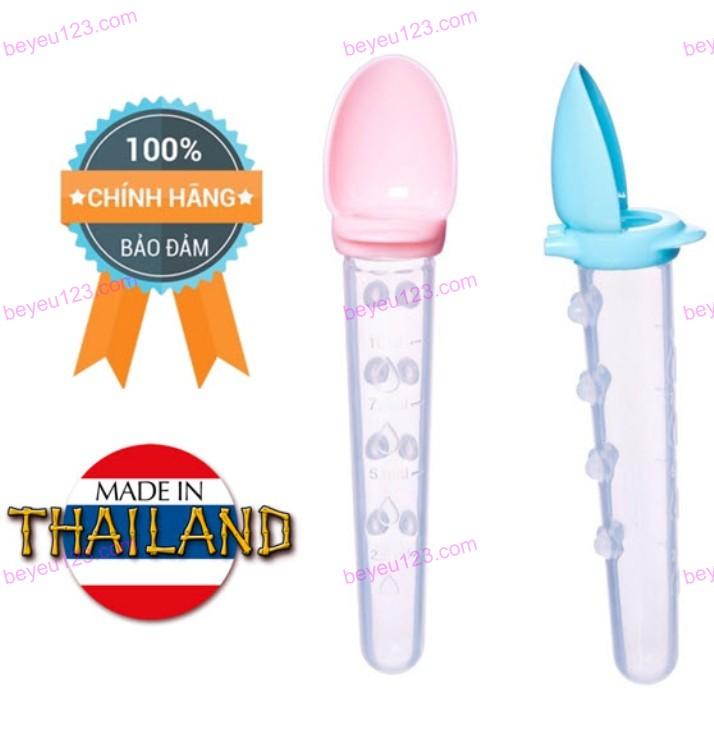 Thìa đút uống thuốc, uống sữa chống đổ cho bé UPASS (Thái Lan) -  UP3031N