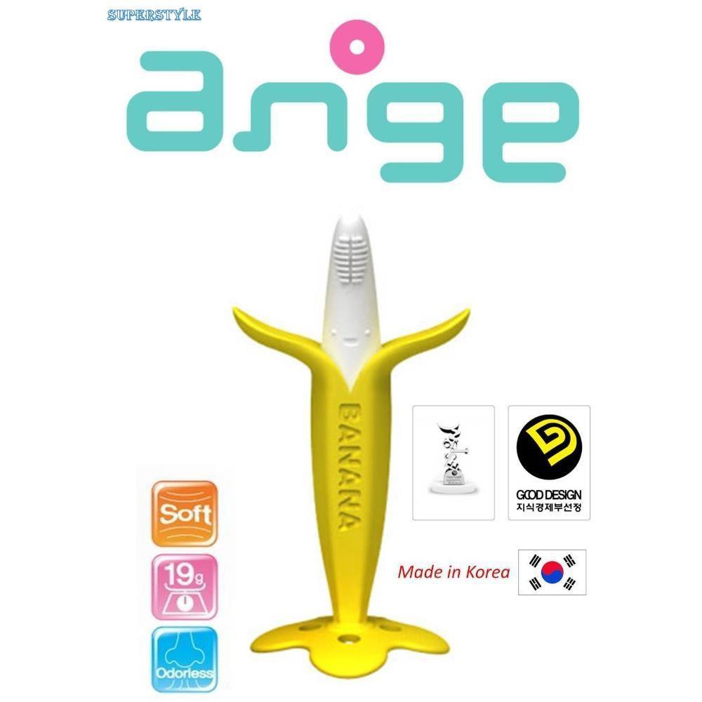Ngậm nướu Ange hình quả chuối cho bé AG044 - Made in Korea