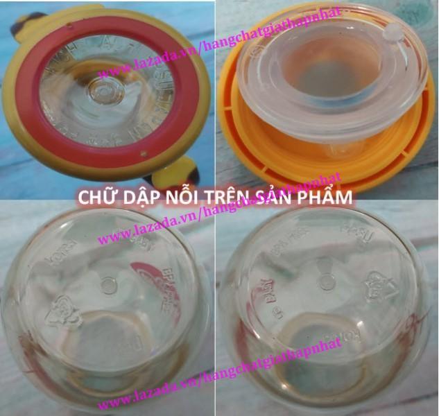 180ML/240ML - Bình sữa PPSU cao cấp GB BABY có tay cầm kèm van chống săc - tặng kèm núm ti thay thế