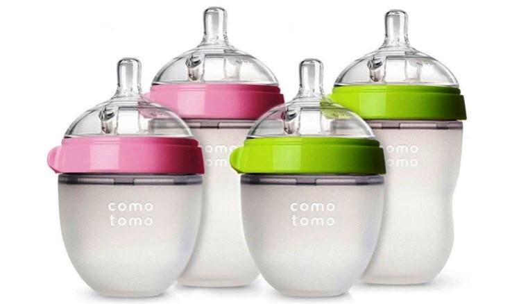 Nắp đậy núm ti chống bụi phụ kiện cho bình sữa Comotomo / Kichilachi(150ml/250ml)