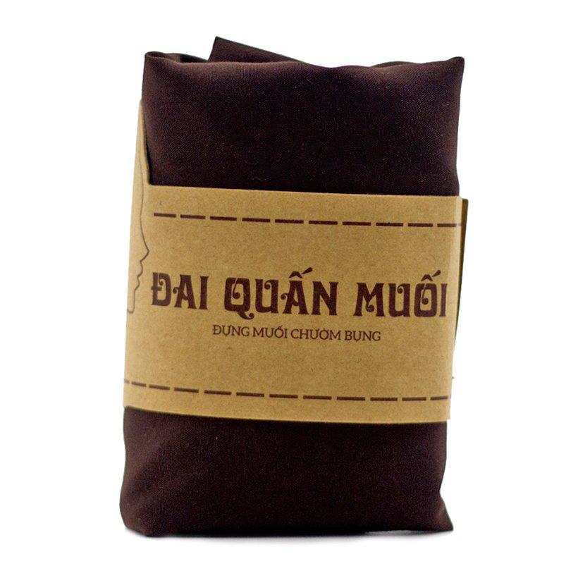 1kg Muối thảo dược giảm eo sau sinh kèm đai vải quấn Wonmom - Việt Nam