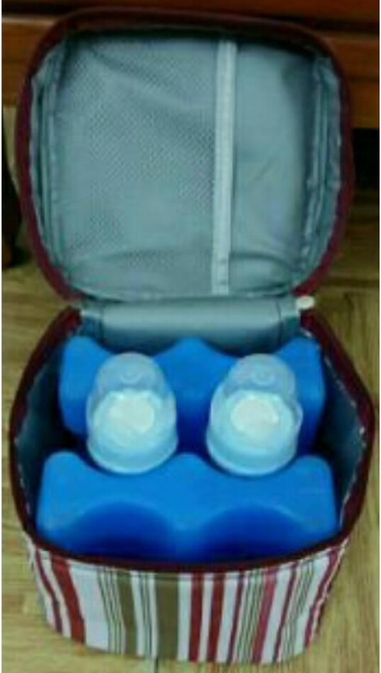 2 Thanh đá gel khô giữ lạnh trữ sữa mẹ, thực phẩm