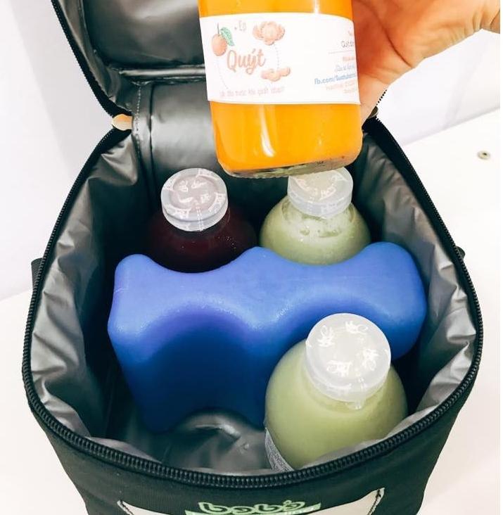 Thanh đá gel khô 2 sóng giữ lạnh trữ sữa mẹ, thực phẩm