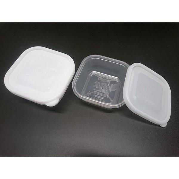 Set 3 hộp nhựa 380ml đựng thực phẩm, ăn dặm Nakaya - Made in Japan - KBN 29240