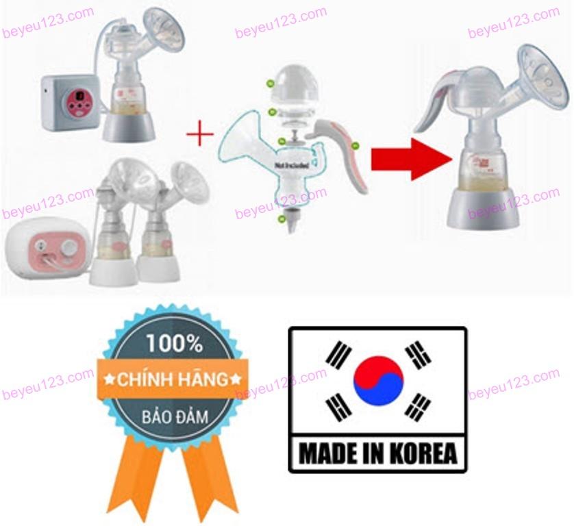 Bộ chuyển đổi máy hút sữa điện sang máy hút bằng tay UNIMOM (Hàn Quốc)