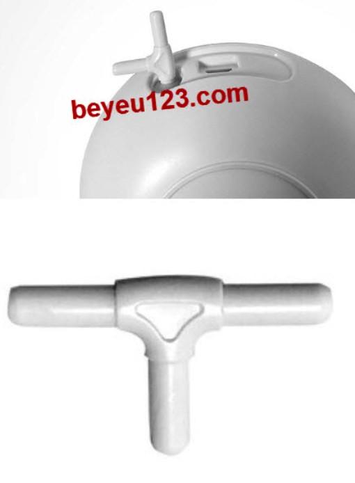 Đầu nối chia chữ T phụ kiện nâng cấp hút đôi cho máy hút sữa điện Gluck