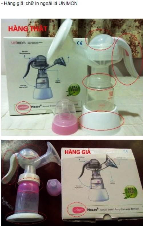 Van chân không phụ kiện máy hút sữa tay UNIMOM Mezzo Hàn Quốc