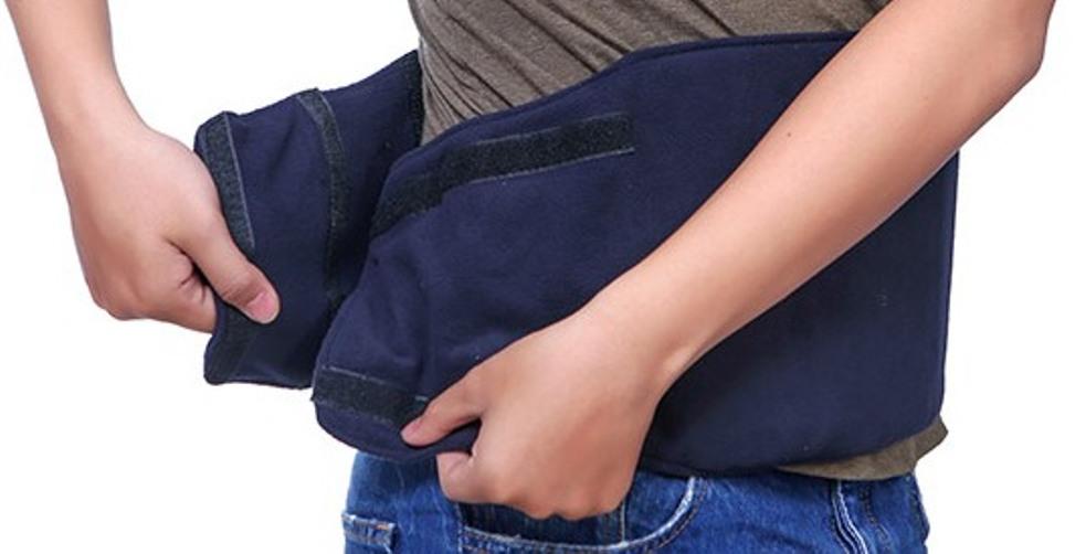 Bộ Muối thảo dược săn bụng và Đai điện quấn nóng giảm mỡ bụng, đau nhức sau sinh VIETCARE