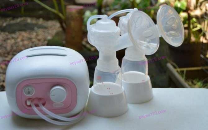 Bộ đầu nắp chụp hút phụ kiện cho máy hút sữa điện đôi Unimom Forte Hàn Quốc