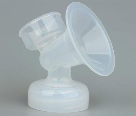 1 phễu chụp hút sữa cổ rộng Avent - Phụ Kiện thay thế cho máy hút sữa điện - Spectra, Papa, Sanity, Rozabi , Nuk