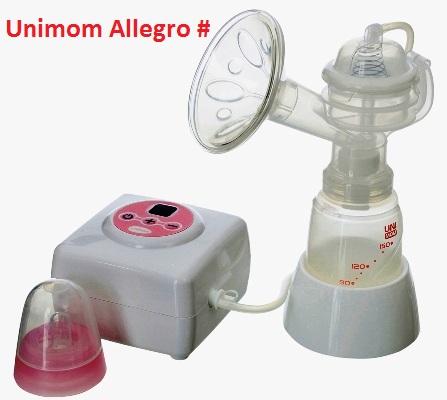 Bộ đầu nắp chụp hút phụ kiện cho máy hút sữa điện đơn Unimom Hàn Quốc