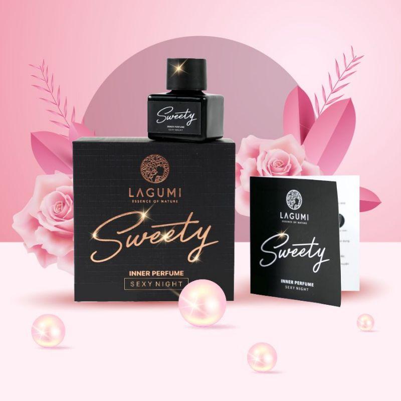 Nước hoa Vùng Kín Lagumi Sweety 5ml - Sweet Day - Ngày Ngọt ngào / Sexy Night - Đêm quyến rũ