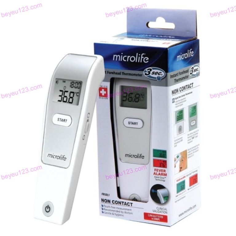 Nhiệt kế hồng ngoại đo trán 1 giây Microlife FR1MF1 - Thụy Sỹ