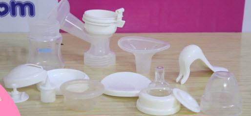 Máy hút sữa Mẹ cầm tay không BPA Upass - Đài Loan