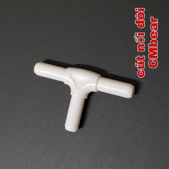 Đầu nối chia chữ T - CMBEAR phụ kiện thay thế dùng cho máy hút sữa đôi