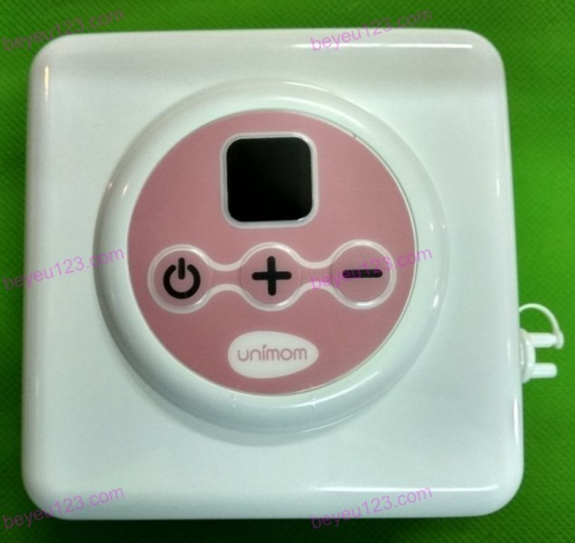 Máy hút sữa điện đôi có maxa silicon có pin sạc có màn hình led UNIMOM PREMIUM ALLEGRO UM872002 (Hàn Quốc)