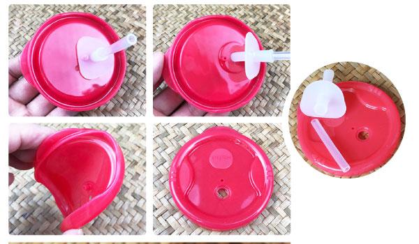 Cốc / Ly Tập uống nước, uống sữa 3 giai đoạn 150ml Richell Nhật Bản