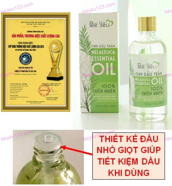 Tinh dầu tràm Huế Bé yêu - Chai 50ml
