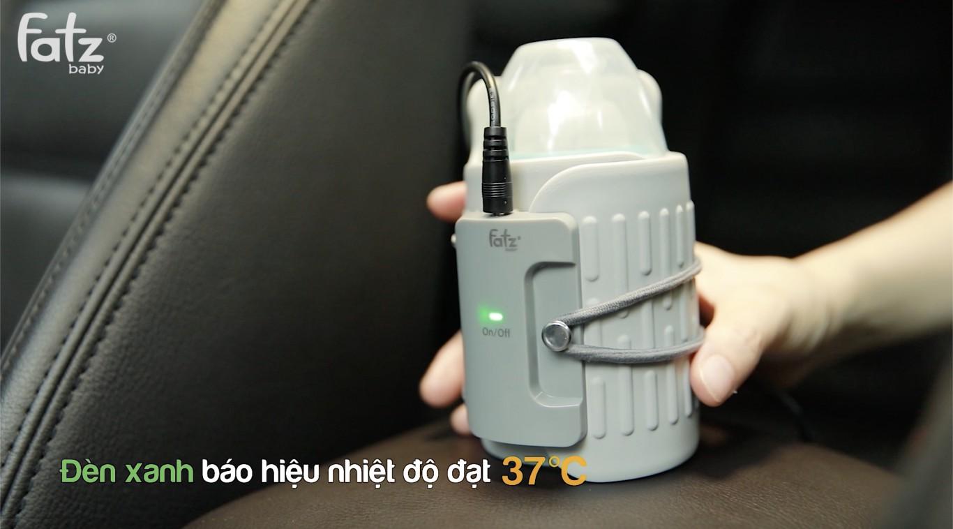 Dụng cụ hâm nóng bình sữa trên xe ô tô Fatz Fatz Baby FB3100MX