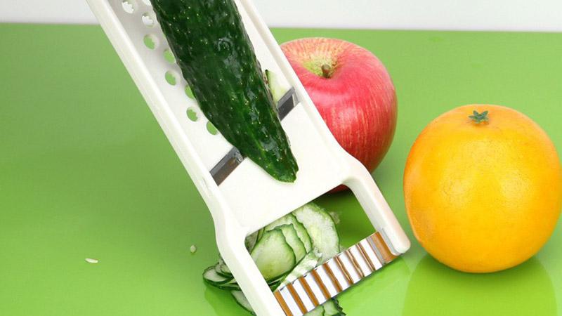 Dụng cụ nạo và tạo hình củ quả ăn dặm cho bé - đồ dùng nhà bếp - Made in Japan - KBN 80065