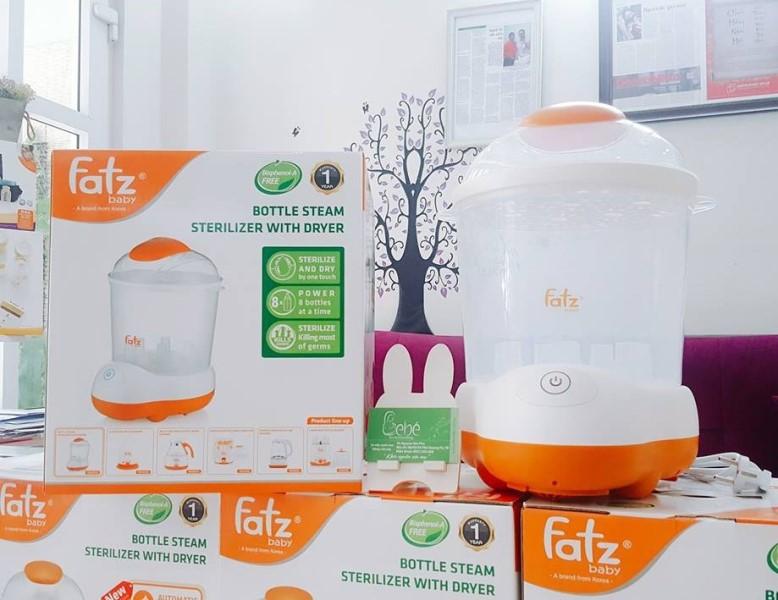 Máy tiệt trùng hơi nước sấy khô cao cấp 08 bình cổ rộng FATZBABY  - FB4906SL