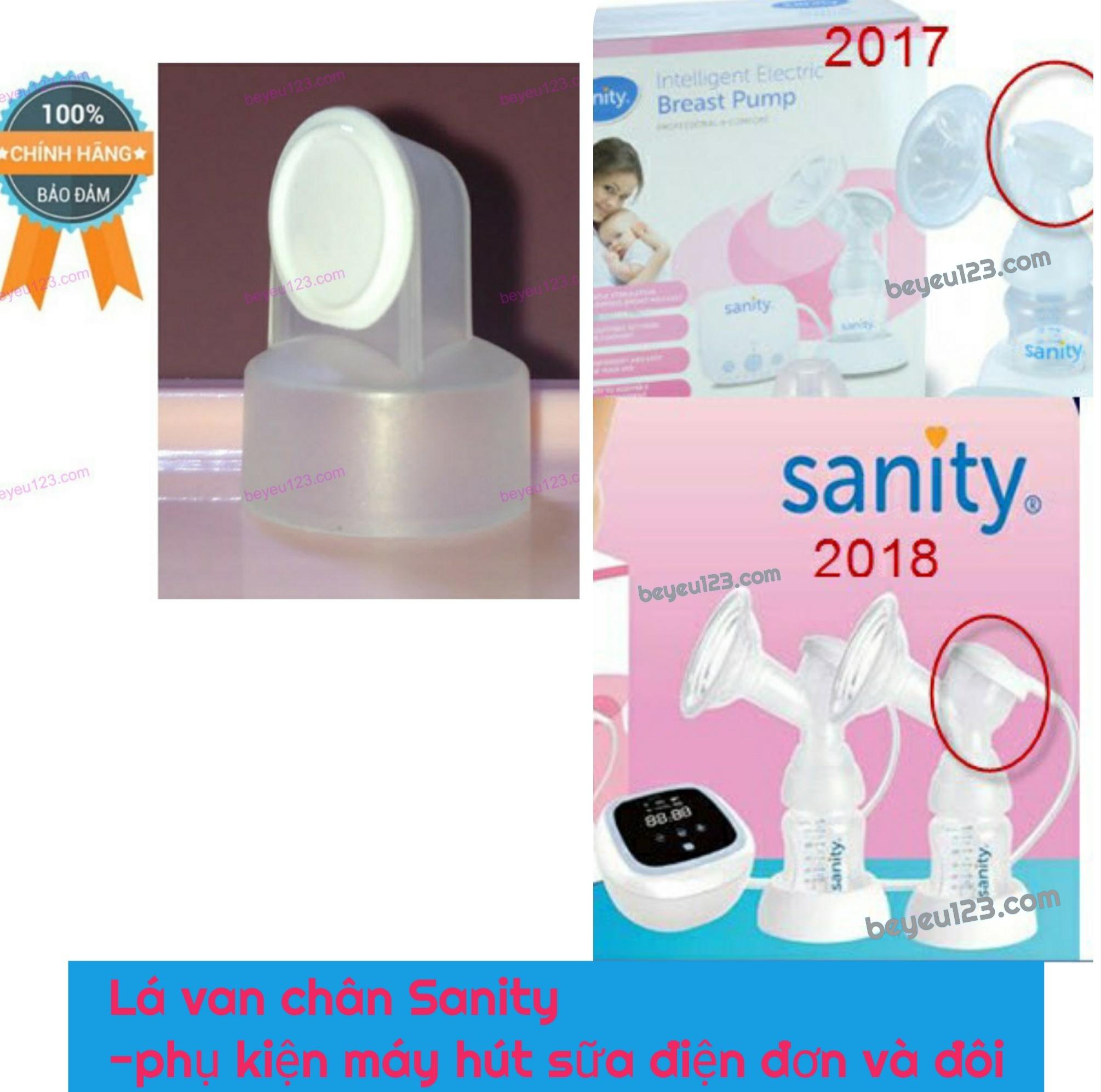 Bộ Lá van chân không Sanity -phụ kiện cho máy hút sữa điện Đơn và Đôi